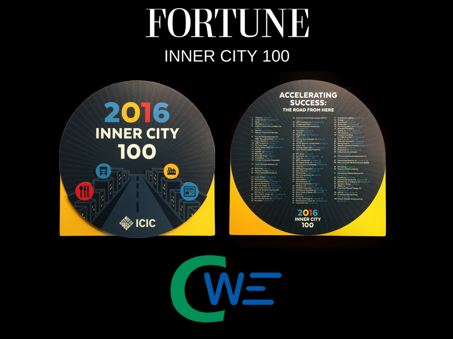 Fortune Magazine Inner City Top 100 Award